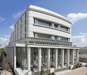 The Hall of the Great Vow for Kosen-rufu located in Shinanomachi, Tokyo, officially opened on November 18